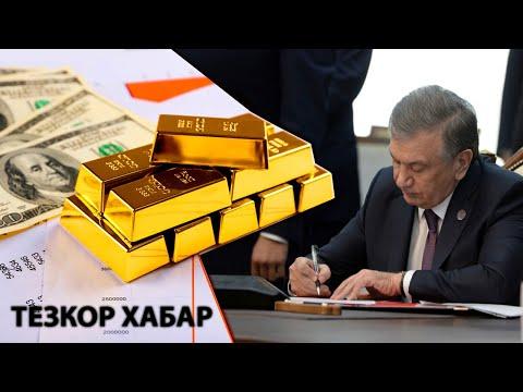 Ўзбекистон Нега 4 млрд долларлик олтин сотди-?