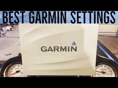 Garmin Fishfinder - BEST Setup And Settings