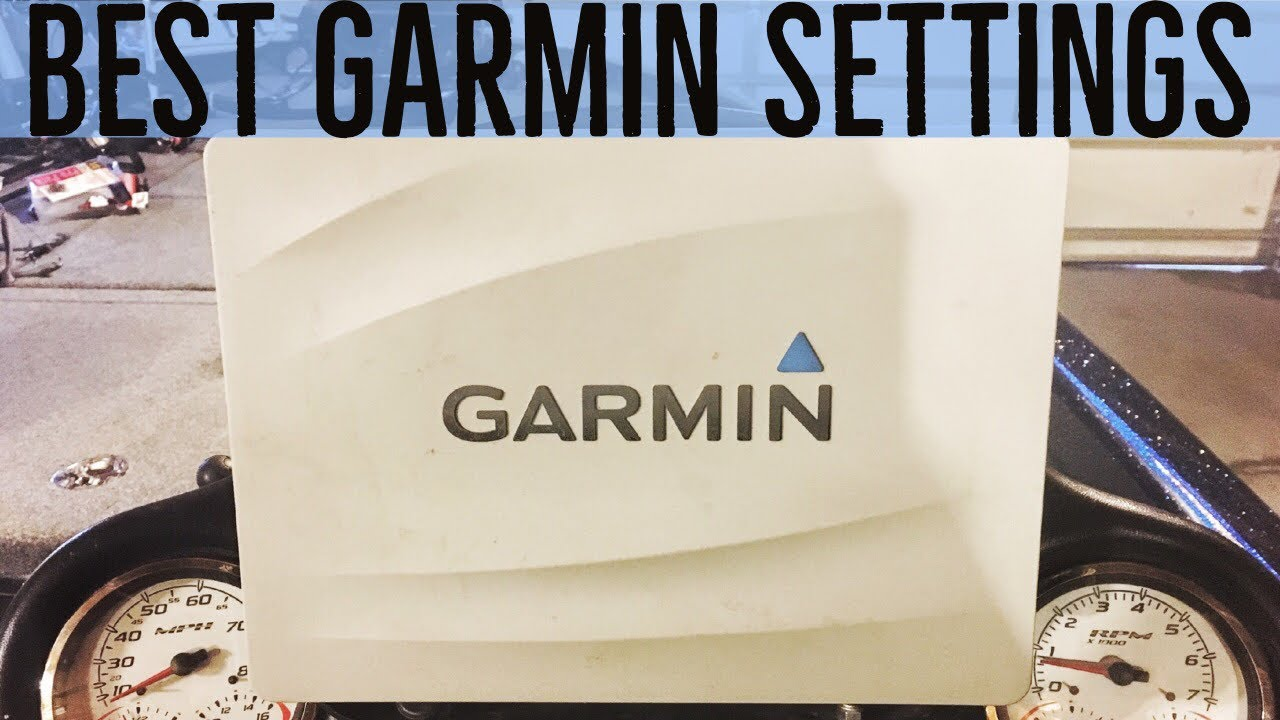 medium resolution of garmin fishfinder best setup and settings