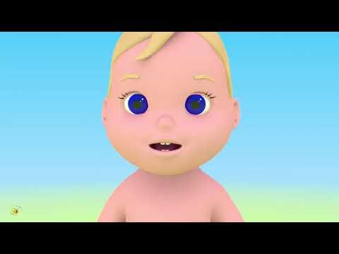 Мультик  Для Малышей  Для самых Маленьких Учим части тела  Лицо ляли.