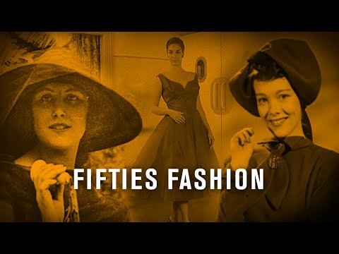 Fifties Fashion I British Pathé