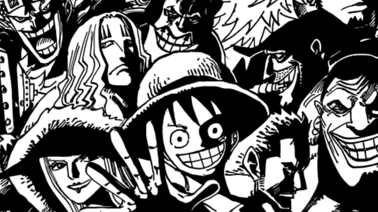 One Piece Lineart : One piece ワンピース chapter 801 recap. youtube