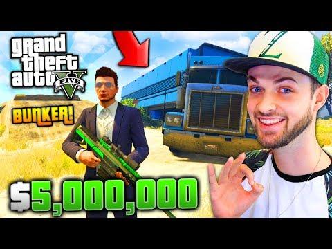NEW BUNKER, TRUCK + CRAZY SNIPER! ($5,000,000+) - GTA 5 w/ Ali-A