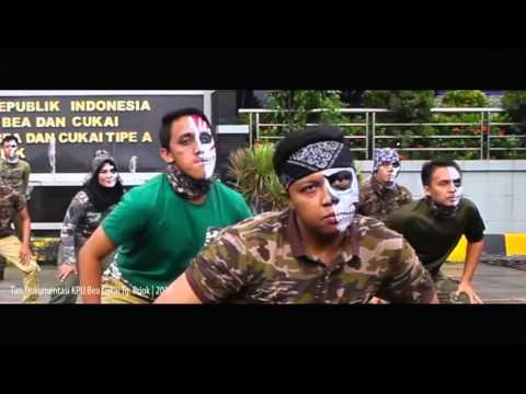 Flashmob Hari Pabean Internasional 2016 KPU Bea Cukai Tg. Priok