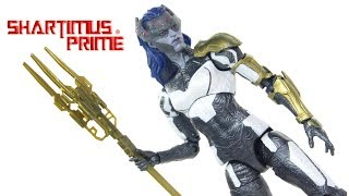 Marvel Legends Proxima Midnight Avengers Infinity War Thanos BAF Wave Action Figure Toy Review
