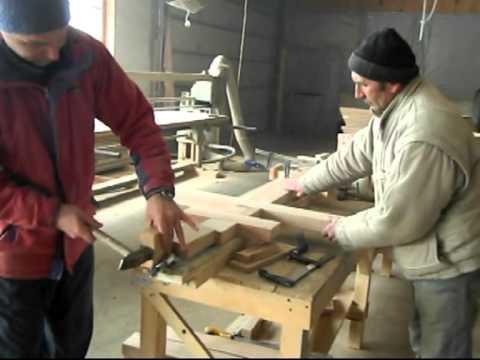 Изготовление крестов, нарезка видео