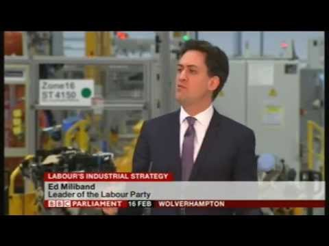 Labour's Industrial Strategy Event 16th Feb 2015