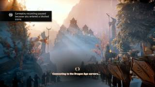 Dragon Age: Inquisition (PS4) Pointless Blocking of Gameplay Recording (1080p)