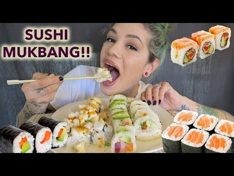 SUSHI MUKBANG [Eating Show]