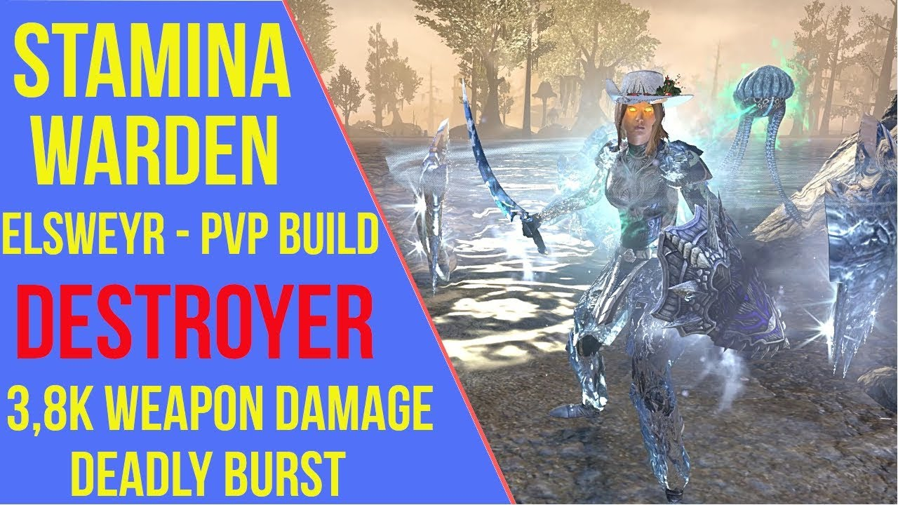 Stamina Warden PVP Build - Destroyer - ArzyeLBuilds