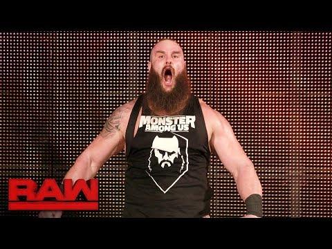 Braun Strowman is rehired: Raw, Jan. 15, 2018