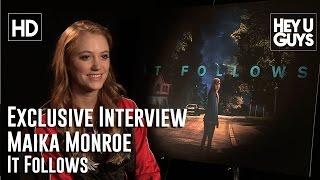Maika Monroe Exclusive Interview - It Follows