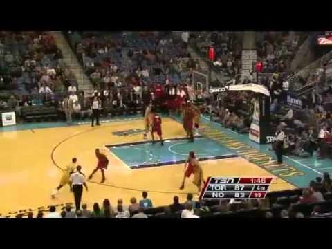 NBA December 28 2012: New Orleans Hornets vs Toronto Raptors Highlights