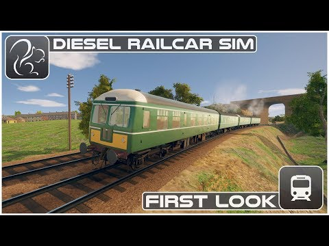 Diesel Railcar Simulator - First Look