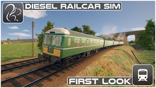 Diesel Railcar Simulator - First Look