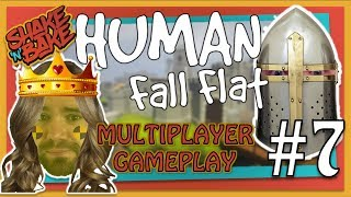 Human Fall Flat (Xbox One) | Multiplayer Gameplay | Cheating The Game