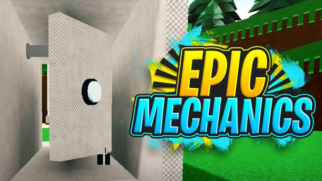 2 Epic Mechanics!!! - Build a Boat For Treasure ROBLOX