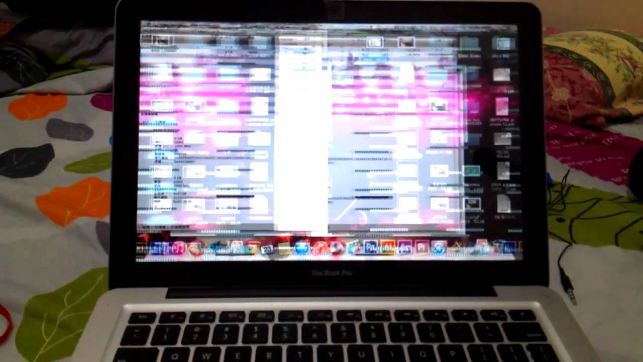 MacBook Pro (13-inch, Mid 2012) 16GB RAM +500GBHHD - Screen glitch (Problem  Solved)
