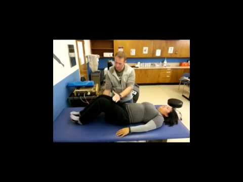 Muscle energy technique for SI joint dysfunction