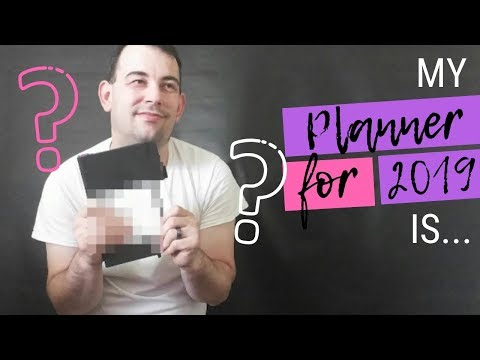 MY PLANNER FOR 2019 IS... (Incl. Coupon Code)