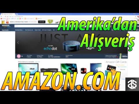 Amazon'dan Nasıl Alışveriş Yapılır? (2017)