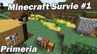 Nouvelle Aventure Survie Multijoueur ! Minecraft Survie Primeria #1