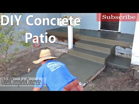 How to Pour a Concrete Patio