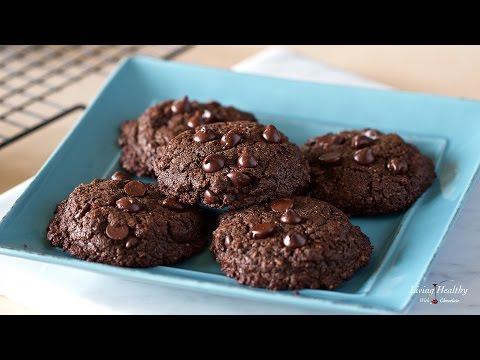 Healthy Chocolate Cookies (Nut-free, Grain-free, Gluten-free)