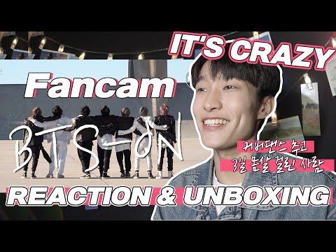 eng) BTS – ON Reaction & Album Unboxing | 방탄소년단 직캠 안무 리액션 & 앨범 언박싱 | J2N VLog