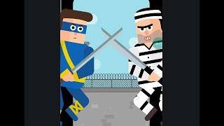Mr Ninja Chaper 16 Penitentiary Walkthrough