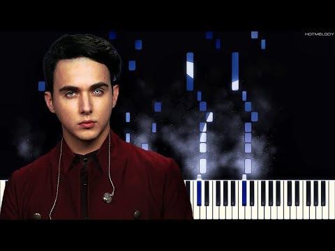 MELOVIN - Expectations (Вітрила) | Как играть на пианино | Кавер, Караоке (OST Новенька)