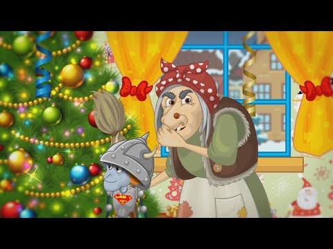 Мультик Баба Яга и Дед мороз