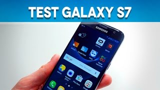 Test Samsung Galaxy S7 - Test Mobile