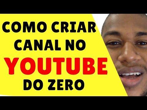 Como Criar Canal No Youtube do Zero Para Vender em 2017