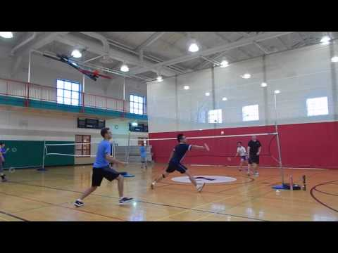 Fort Wayne Badminton Club Play 7-19-2017