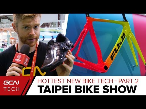 Best New Tech For Road Bikes Part 2 | Taipei Cycle Show 2018