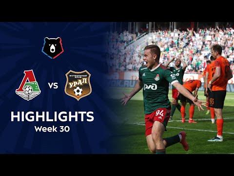 Lokomotiv Moscow Ural Goals And Highlights