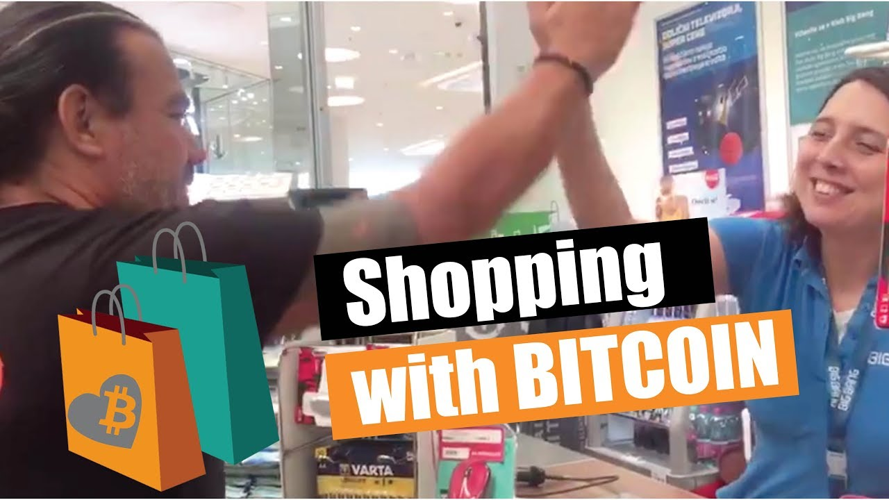 how to shop with bitcoin