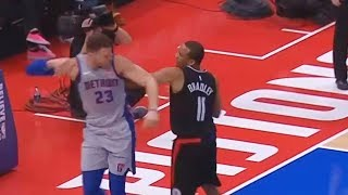 Blake Griffin Fights Avery Bradley for Shoving Him, Both Shove Each Other and Exchange Words