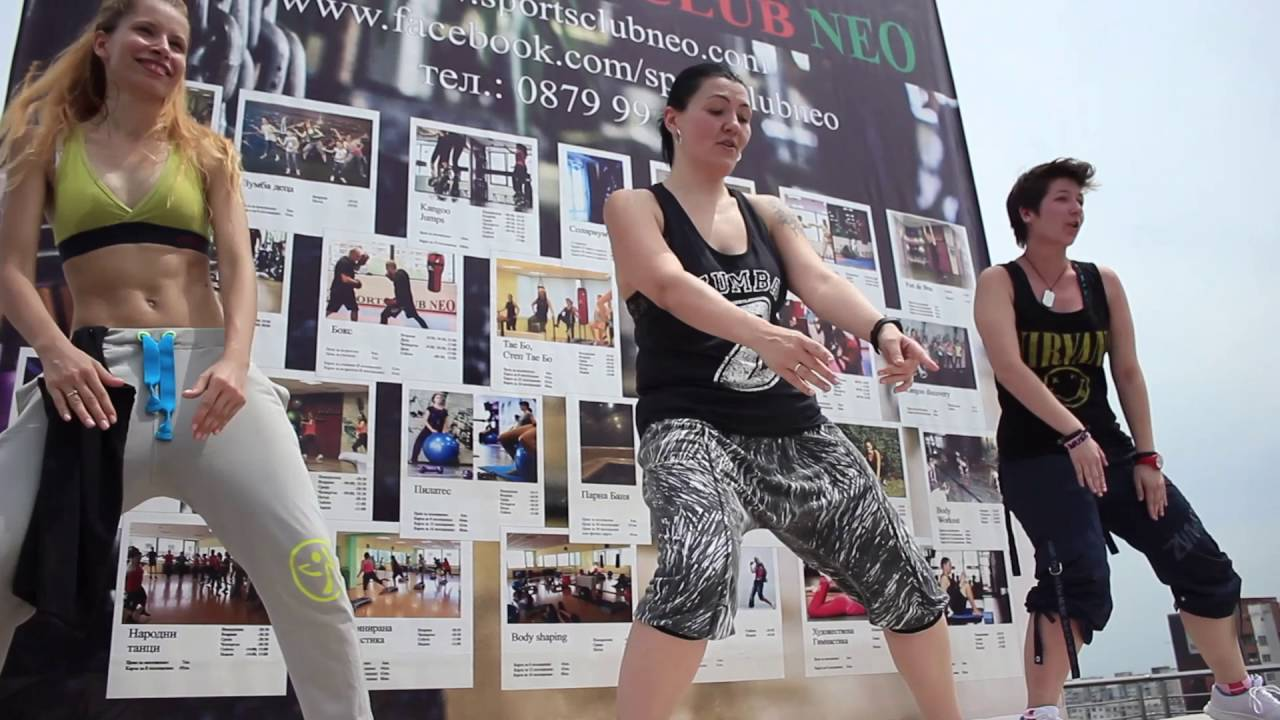 Zumba The Roof Is On Fire Zumba Style Youtube