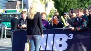 Franziska Knuppe MIB Men in Black 3 Premiere Berlin o2 World