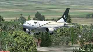 Top 10 Airlines - (PIA) Pakistan International Airlines FSX Promotional Video 2013