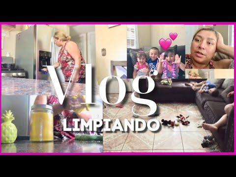 ESTO YA ES EXTRA VLOG Y LIMPIANDO UN POQUITO - LupeyJose Vlogs En Español