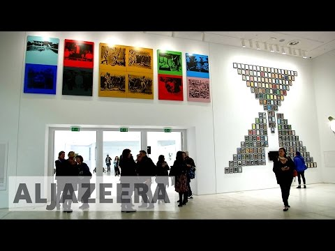Greece unveils first modern art museum