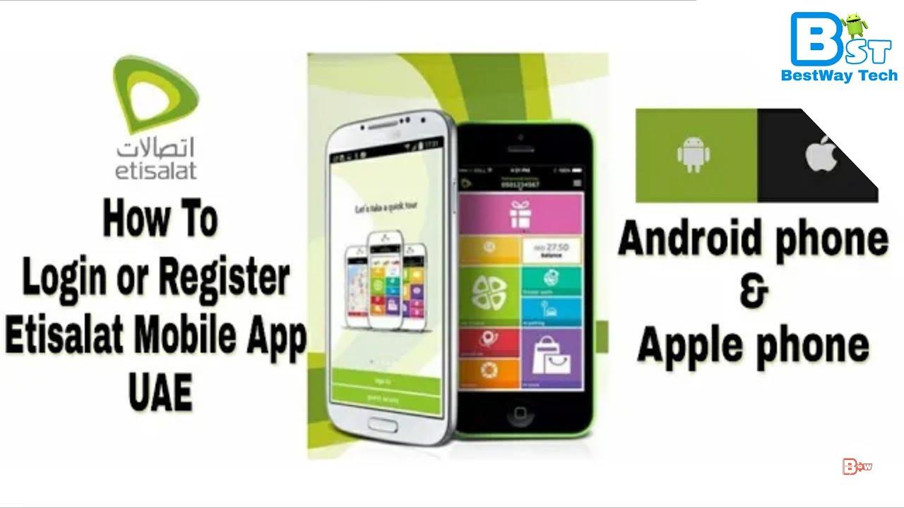 Etisalat Uae Mobile App Youtube - Imagez co
