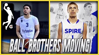 LIANGELO BALL TO JOIN THE G-LEAGUE, LAMELO TEAM CONFIRMED! | BALL BROTHERS LEAVING JBA FOR GOOD?