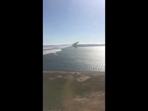 Atterrissage sur Marseille avec jet air Fly
