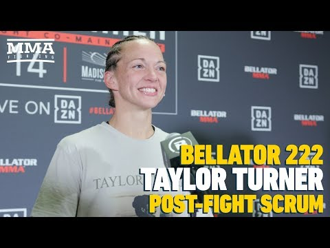 Bellator 222: Taylor Turner Overcame 'Cage Fright' Before Defeating Heather Hardy - MMA Fighting