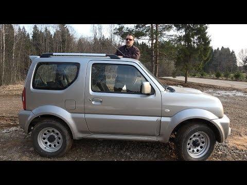 20 лет Suzuki Jimny. Вся правда о самом маленьком профессиональном внедорожнике.
