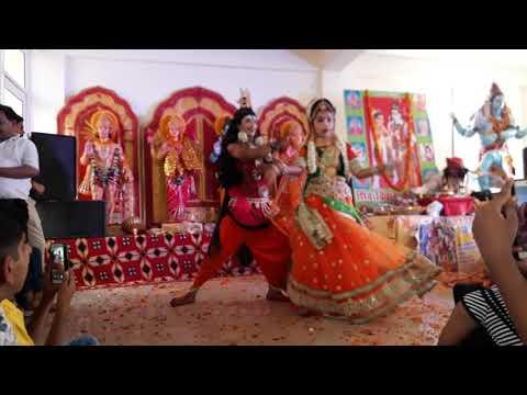 Gora Re ragad De bhangiya please video ok last Tak Dekhe Gopal Priya GPS art group's 9971185520